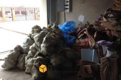 Сбор строительного мусора