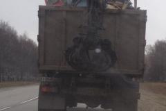 Контейнер со строительным мусором